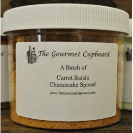 Carrot Raisin Cheesecake Spread Batch Jar
