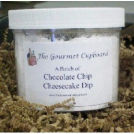 Chocolate Chip Cheesecake Dip Batch Jar