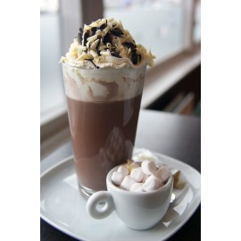 Bavarian Crème Hot Chocolate