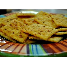 Spicy Saltine Cracker Mix- Gluten Free