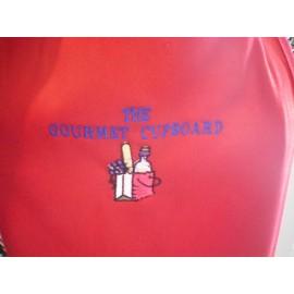 Monogrammed Red Sweat Shirts